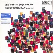 Front View : Lee Konitz / Gerry Mulligan - LEE KONITZ PLAYS WITH THE GERRY MULLIGAN QUARTET (180G LP) - Blue Note / 3526819