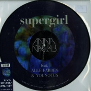 Front View : Anna Naklab ft. Alle Farben & Younotus - SUPERGIRL EP (LTD PICTURE DISC) - Sony Music / 7383439