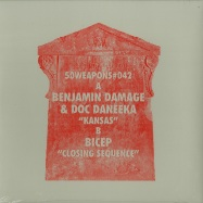Front View : Benjamin Damage & Doc Daneeka / Bicep - KANSAS/CLOSING SEQUENCE (180GR) - 50 Weapons / 50Weapons042
