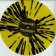 Front View : Cari Lekebusch - PREMONITION (YELLOW / BLACK SPLATTER VINYL) - H-Productions / HYB029