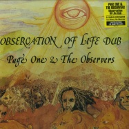 Front View : Page One & Observers - OBSERVATION OF LIFE DUB (180G LP) - Burning Sounds / bsrlp995