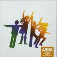 Front View : ABBA - ABBA - THE SINGLES (LTD COLOURED 3X7 INCH BOX + MP3) - Universal / 5762516