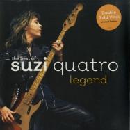 Front View : Suzi Quatro - THE BEST OF SUZI QUATRO: LEGEND (GOLDEN 2X12 LP) - Chrysalis / CRVX1050 / 7711442