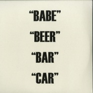 Front View : Dual Action - BABE BEER BAR CAR (2X12 LP) - Hospital / HOS-496
