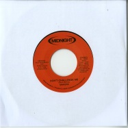 Front View : Makers - DONT CHALLENGE ME (7 INCH) - Midnight Drive / Drive004