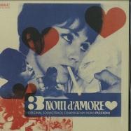 Front View : Piero Piccioni - 3 NOTTI D AMORE (LP) - Four Flies / FLIEESSJ01