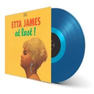 Front View : Etta James - AT LAST! (+4 BONUS TRACKS) (LTD. BLUE COLOURED 180 G VINYL) - Waxtime / 012950613