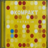 Front View : Various Artists - TOTAL 19 (2XCD) - Kompakt / Kompakt CD 154