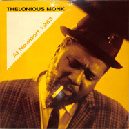 Front View : Thelonious Monk - AT NEWPORT 1963 (LP) - Naked Lunch / ND016 / 00142471