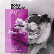 Front View : Boris Brejcha - PURPLE NOISE REMIXES 1 (COLOURED SPLATTER VINYL) - Harthouse / HHBER023-6