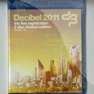 Front View : Various Artists - DECIBEL 2011 (BLU-RAY + CD) - Cloud 9 Music / cb2s2011008