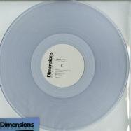 Front View : Kerem Akdag - KEREM AKDAG LP (CLEAR VINYL) - Dimensions / Direct005