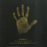 Front View : Worakls / Nto / Joachim Pastor - HUNGRY 5 (3XCD) - Hungry Music  / HMCD001