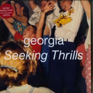 Front View : Georgia - SEEKING THRILLS (LTD RED 180G LP + MP3) - Domino Records / WIGLP384X