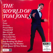 Front View : Tom Jones - THE WORLD OF TOM JONES (180G LP + MP3) - Decca / 0831275