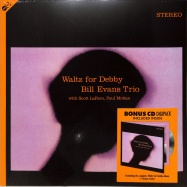 Front View : Bill Evans Trio - WALTZ FOR DEBBY (LP + CD) - Groove Replica / 77013 / 9655994