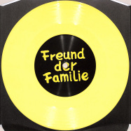 Front View : Freund Der Familie - ALFA REMIXES 03.1 (7 INCH, YELLOW COLOURED VINYL) - Freund der Familie / FDFALFA03.1