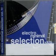 Front View : Various Artists - ELECTRO MINIMAL SELECTION VOL. 15 (2xCD) - Saifam Music / atl939-2