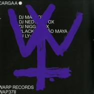 Front View : Various Artists - CARGAA 1 (12 INCH + MP3) - Warp Records / Wap378