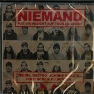Front View : Veedel Kaztro, Johnny Rake, Gold Roger & DJ Densen - NIEMAND HAT DIE ABSICHT AUF TOUR ZU GEHEN (CD) - Melting Pot Music / MPM190CD