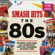 Front View : Various Artists - SMASH HITS - THE 80S (180G 2X12 LP) - Rhino / 0190295753436
