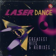 Front View : Laserdance - GREATEST HITS & REMIXES (LP) - Zyx Music / ZYX 21094-1