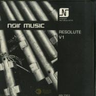 Front View : Noir Music - RESOLUTE V1 (3X12 INCH) - Noir Music / RSLT001