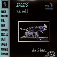 Front View : Various Artists - SPORTS VARIOUS ARTISTS 01 - Sports Records / SVA-001