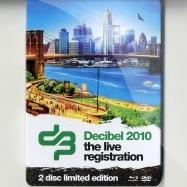 Front View : Decibel 2010 - LIVE REGISTRATION (BLU-RAY / DVD) - Cloud 9 Music / cb2s2010004