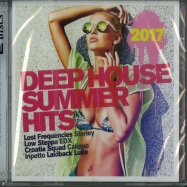 Front View : Various Artists - DEEP HOUSE SUMMER HITS 2017 (2XCD) - Pink Revolver / 26421882