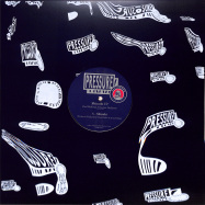 Front View : Paularner Aka Paul Walter & Arno - SHINOBI EP - Pressure Traxx Silver Series / PTXS014