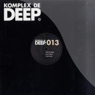 Front View : Francois Dubois - BACK 2 RAW / UPROCK - Komplex De Deep / KDD013