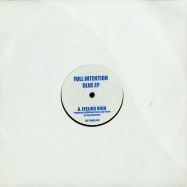 Front View : Full Intention - BLUE EP - FIDUBS001