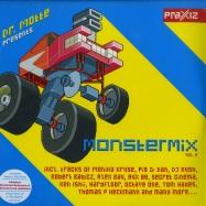 Front View : Various Artists - DR. MOTTE MONSTER MIX VOL. 2 (4X12 LP + MP3) - Polystar 4736123