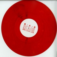 Front View : R-A-G - DREADFULLY NERVOUS (CLEAR RED VINYL) - M>O>S DEEP / MOS DEEP 029