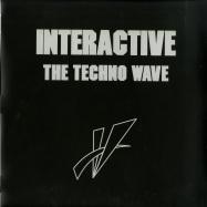 Front View : Interactive - THE TECHNO WAVE (BLACK PRIPLAK JACKET WITH POSTCARD) - Mecanica / MEC028