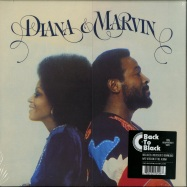 Front View : Diana Ross & Marvin Gaye - DIANA & MARVIN (180G LP + MP3) - Island / 5353426