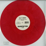 Front View : DJ T-1000 - I TOLD EM I WAS FROM DETROIT (RED MARBLED VINYL) - Suspected / SUSLTD018