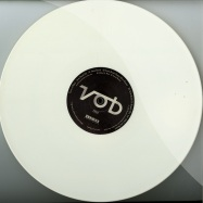 Front View : Voices Of Black - ATOM BOMB EP (WHITE VINYL) - Double Standard Records / DS11