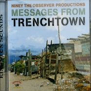 Front View : Various Artists - NINEY THE OBSERVER PRODUCTIONS - MESSAGES FROM TRENCHTOWN (CD) - Jamaican Recordings / kscd034