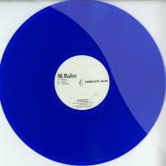 Front View : M. Rahn - THE REGENESIS EP (CLEAR BLUE VINYL) - DimbiDeep Music / DIMBIV004