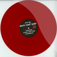 Front View : Jason Bye - BEATS DONT SLEEP (CLEAR RED VINYL) - Playmore / PLAYMORET003