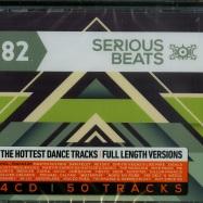Front View : Various Artist - SERIOUS BEATS 82 (4XCD) - News / 541464cd