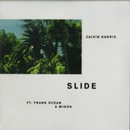 Front View : Calvin Harris ft. Frank Ocean & Migos - SLIDE - Columbia / 88985450771