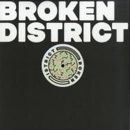 Front View : Various Artists - BROKEN DISTRICT 01 - Broken District / BKD001