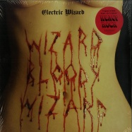 Front View : Electric Wizard - WIZARD BLOODY WIZARD (RED & WHITE LP) - Spinefarm / SPINE731695