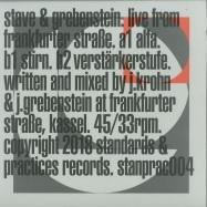 Front View : Stave & Grebenstein - LIVE FROM FRANKFURTER STRASSE - Standards & Practices / STANPRAC004