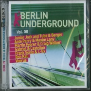 Front View : Various Artists - BERLIN UNDERGROUND VOL. 8 (2XCD) - More Music / 8951404