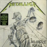 Front View : Metallica - ...AND JUSTICE FOR ALL (180G 2LP) - Blackened / BLCKND007R-1 / 6769023