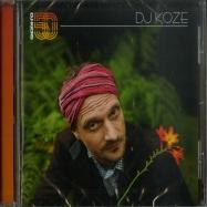 Front View : DJ Koze - DJ-KICKS (CD) - K7 Records / K7325CD (112162)